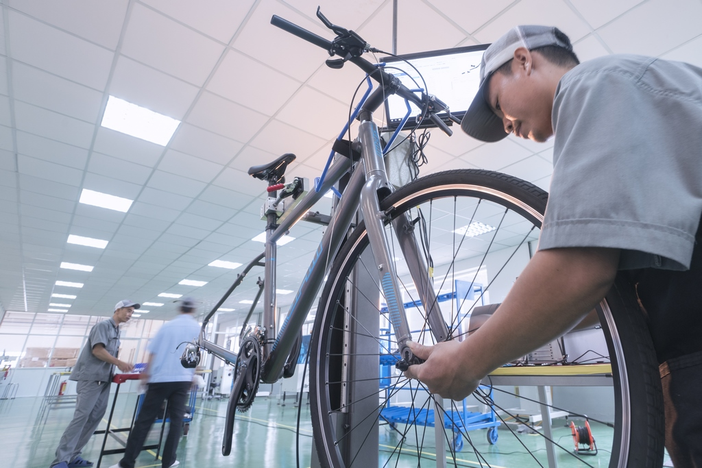Bicycle manufacturing